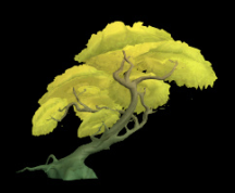 Wildstar Housing - Deciduous Tree (Yellow)