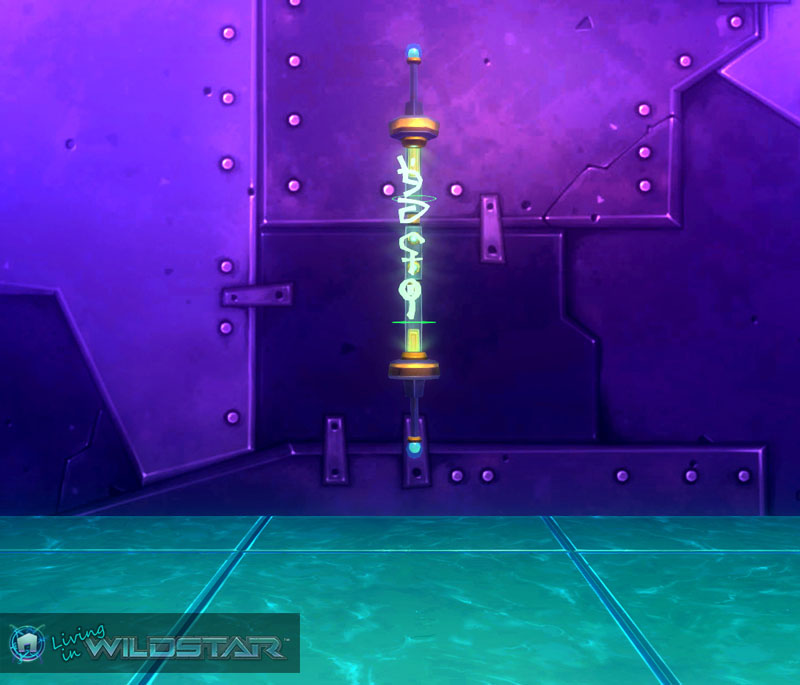 Wildstar Housing - Holographic Shop Sign