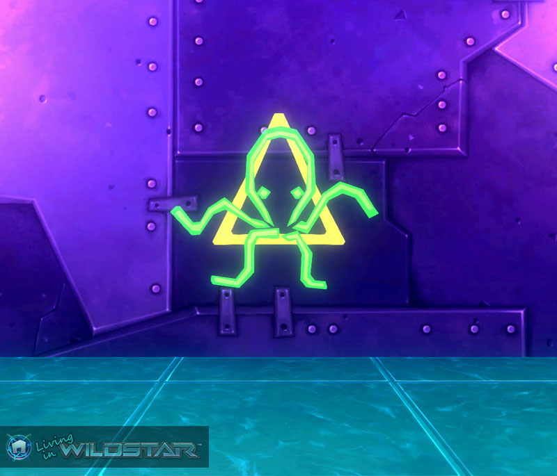 Wildstar Housing - Neon Sign (Octopus)