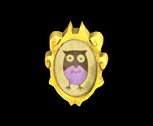 Wildstar Housing - Picture Frame (Hoogle) [Portrait of an Owl]