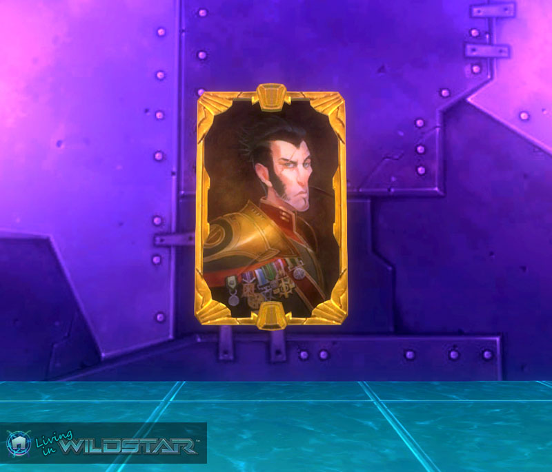 Wildstar Housing - Portrait of a Highborn Lord