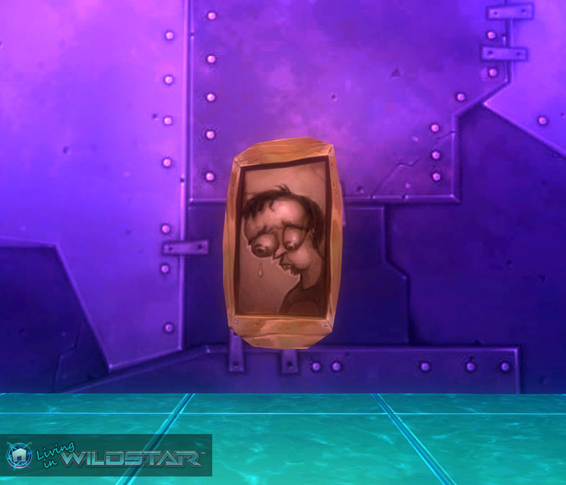 Wildstar Housing - Portrait of a Sad Face