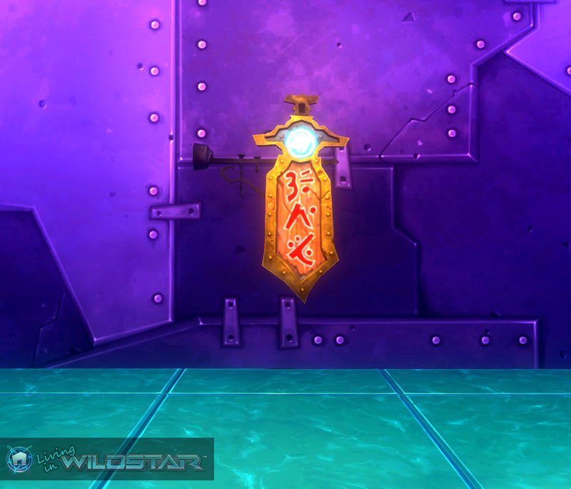 Wildstar Housing - Weapon Shop Sign