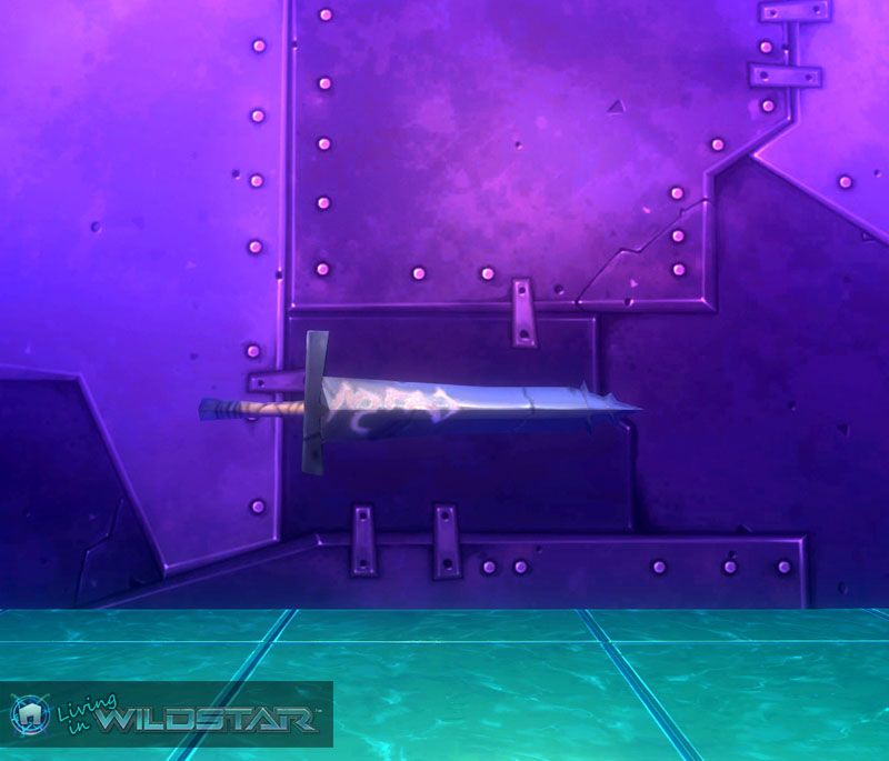 Wildstar Housing - Engraved Sword (Draken)
