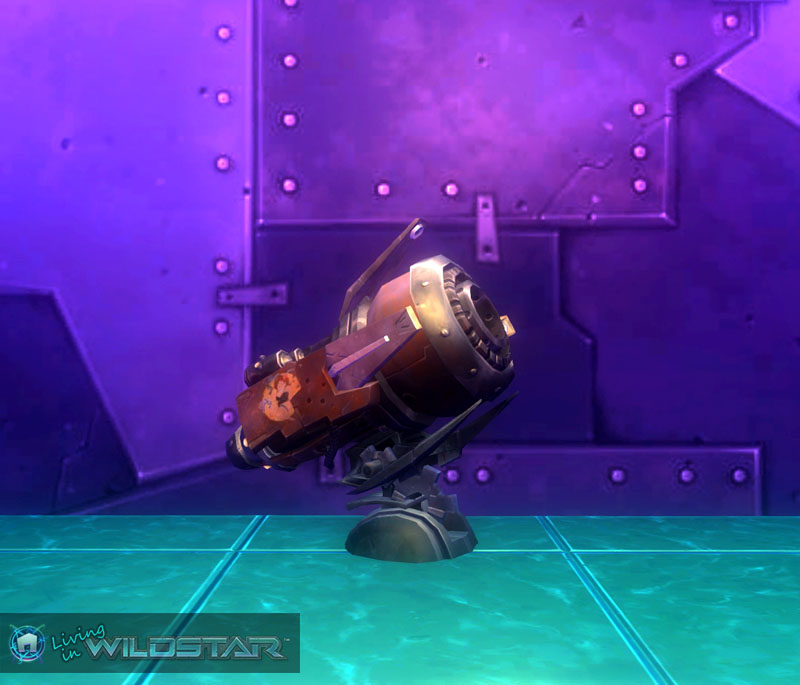 Wildstar Housing - Cannon (Exile)