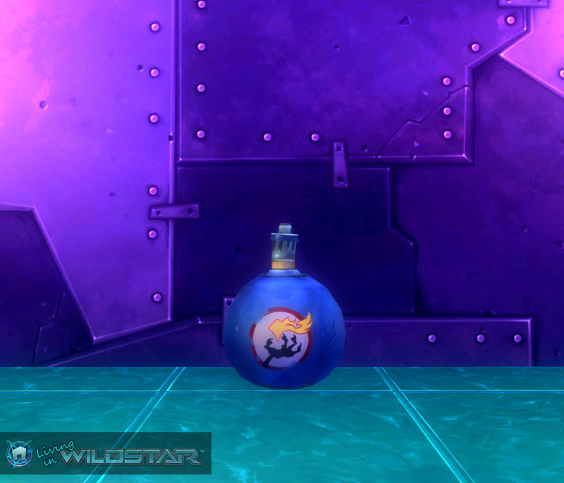 Wildstar Housing - Bomb (Protostar)