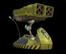 Wildstar Housing - Rocket Launcher (Green)