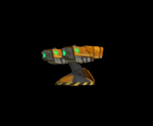 Wildstar Housing - Rocket Launcher (Orange)