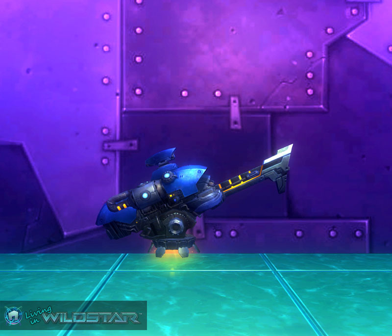 Wildstar Housing - Cannon (Defensive, Shiphand)