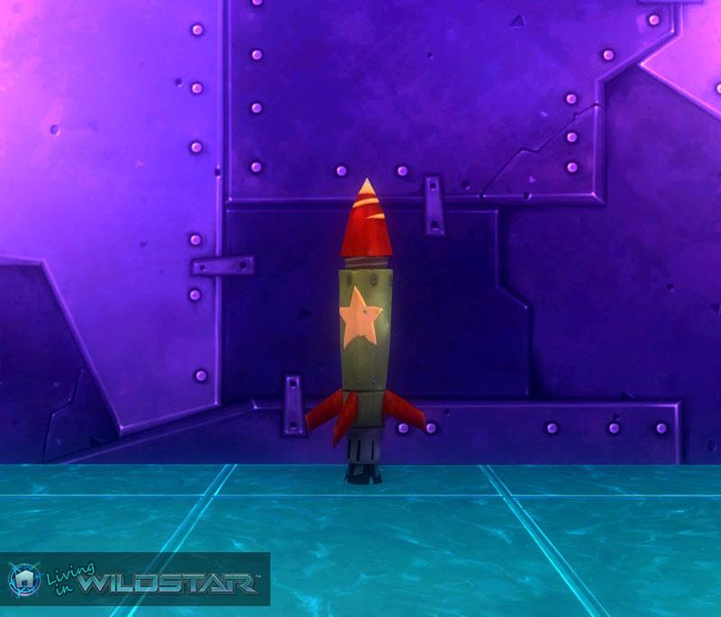 Wildstar rocket house interior