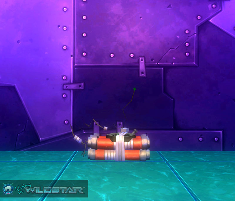 Wildstar Housing - Ticking Doughsplosives