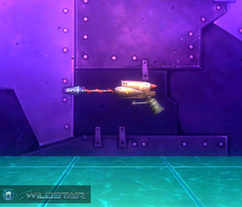 Wildstar Housing - Pistol (Marauder)