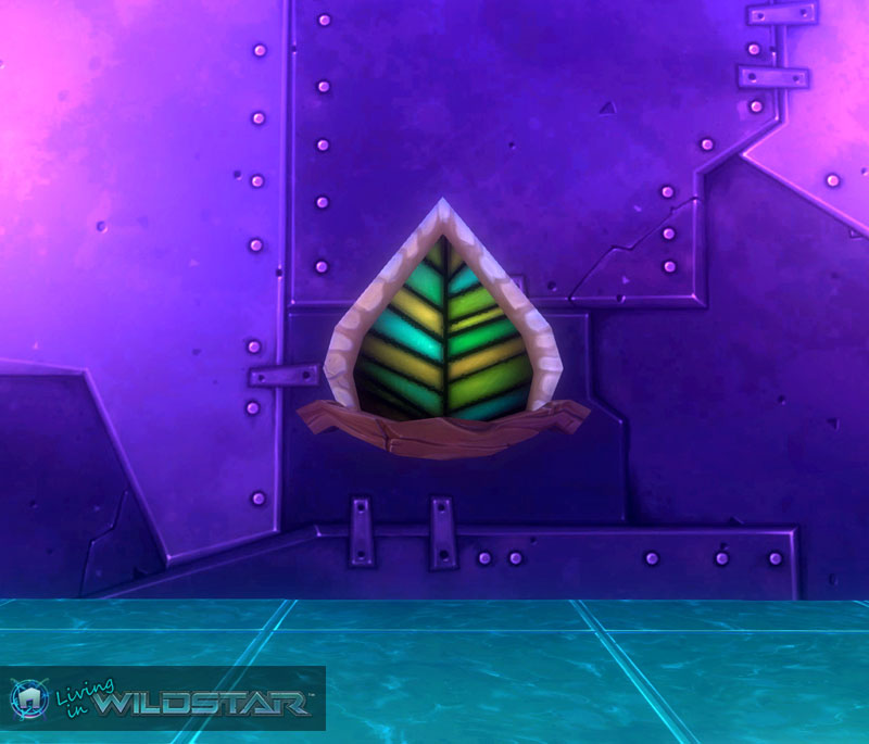 Wildstar Housing - Aurin Leaf Window