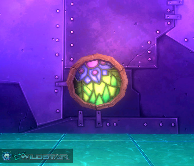 Wildstar Housing - Colorful Window (Aurin)