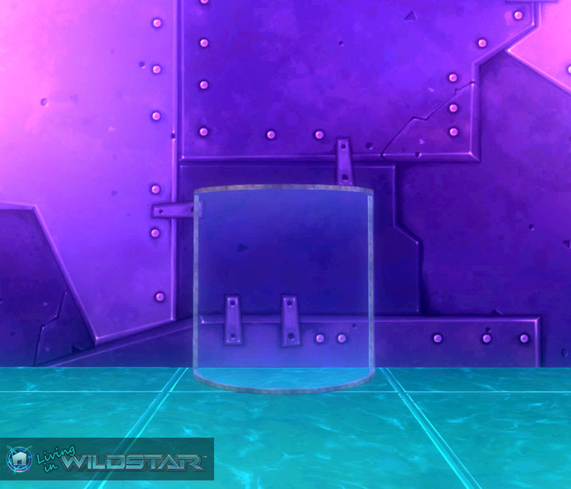 Wildstar Housing - Curved Glass (Metal)