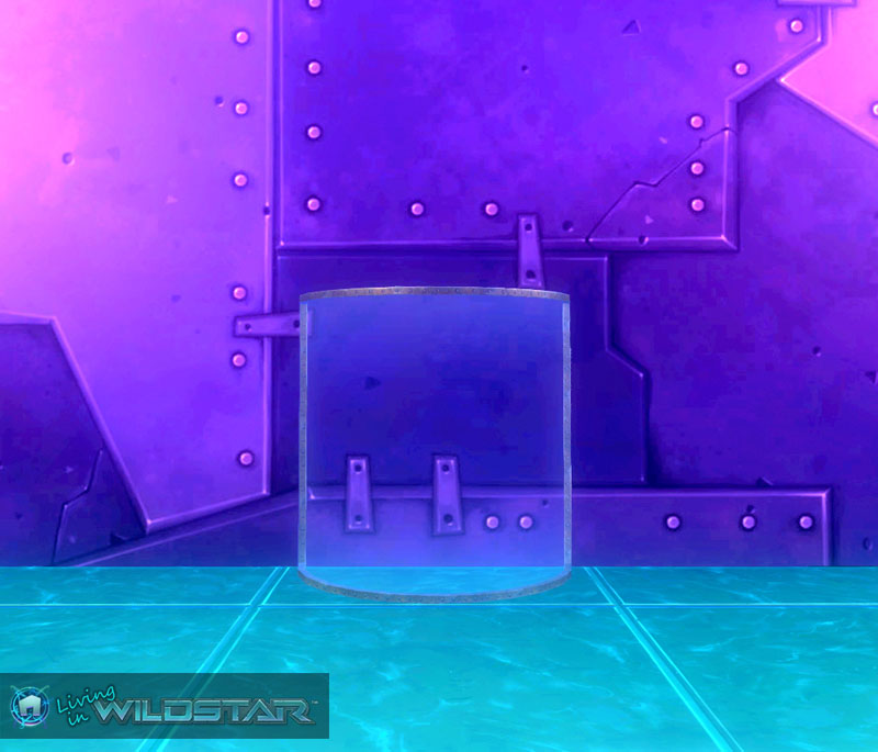 Wildstar Housing - Curved Glass (Riveted)