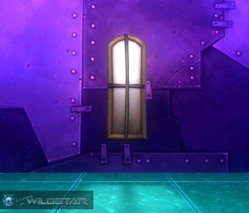 Wildstar Housing - Haunted Window (Train)