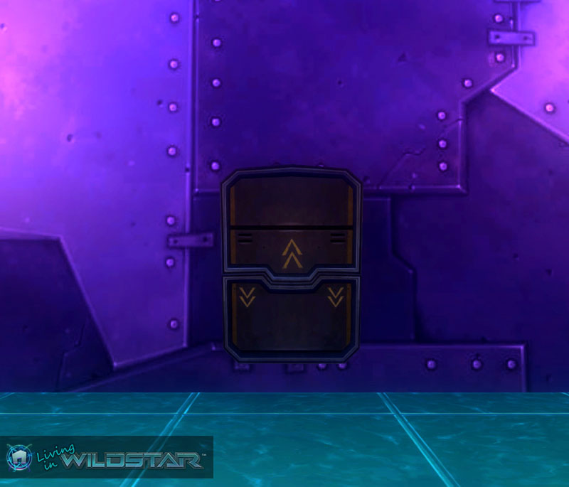 Wildstar Housing - Spacecraft Window (Closed)