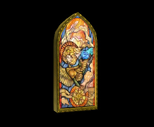 Wildstar Housing - Stained Glass Window (Courage)