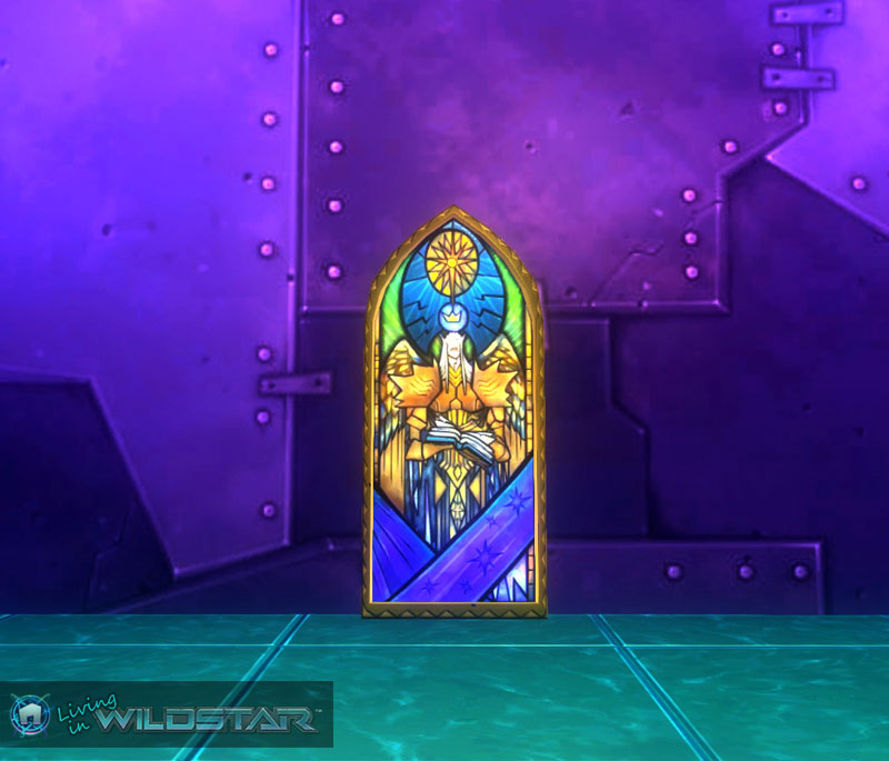 Wildstar Housing - Stained Glass Window (Devotion)
