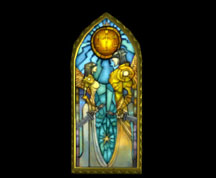 Wildstar Housing - Stained Glass Window (Justice)