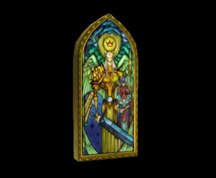 Wildstar Housing - Stained Glass Window (Strength)