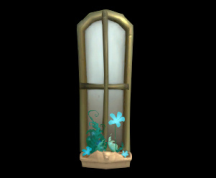 Wildstar Housing - Arched Window (Floral)