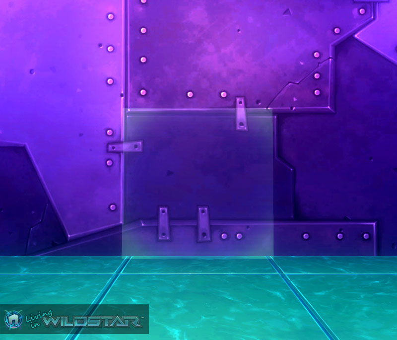 Wildstar Housing - Glass (Unframed, Green)