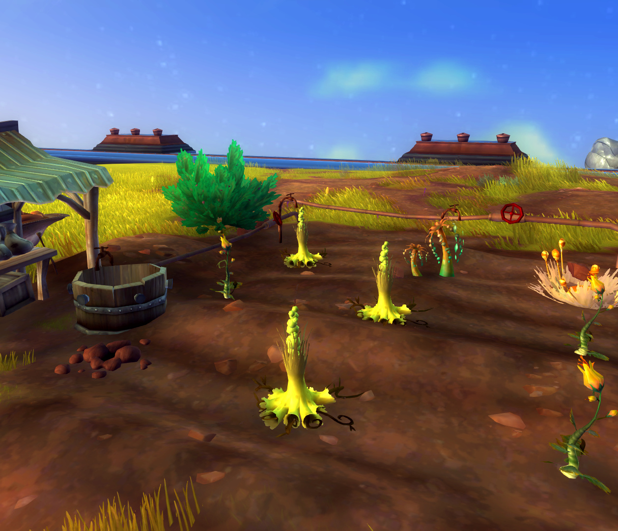 Wildstar Housing - Garden Tier 2