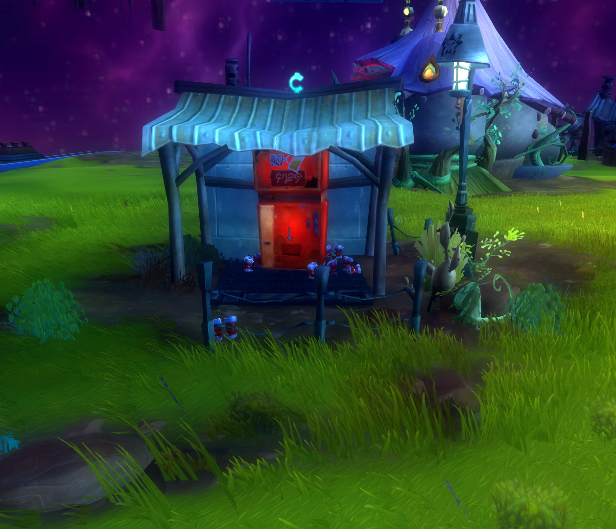 Wildstar Housing - Vending Machine
