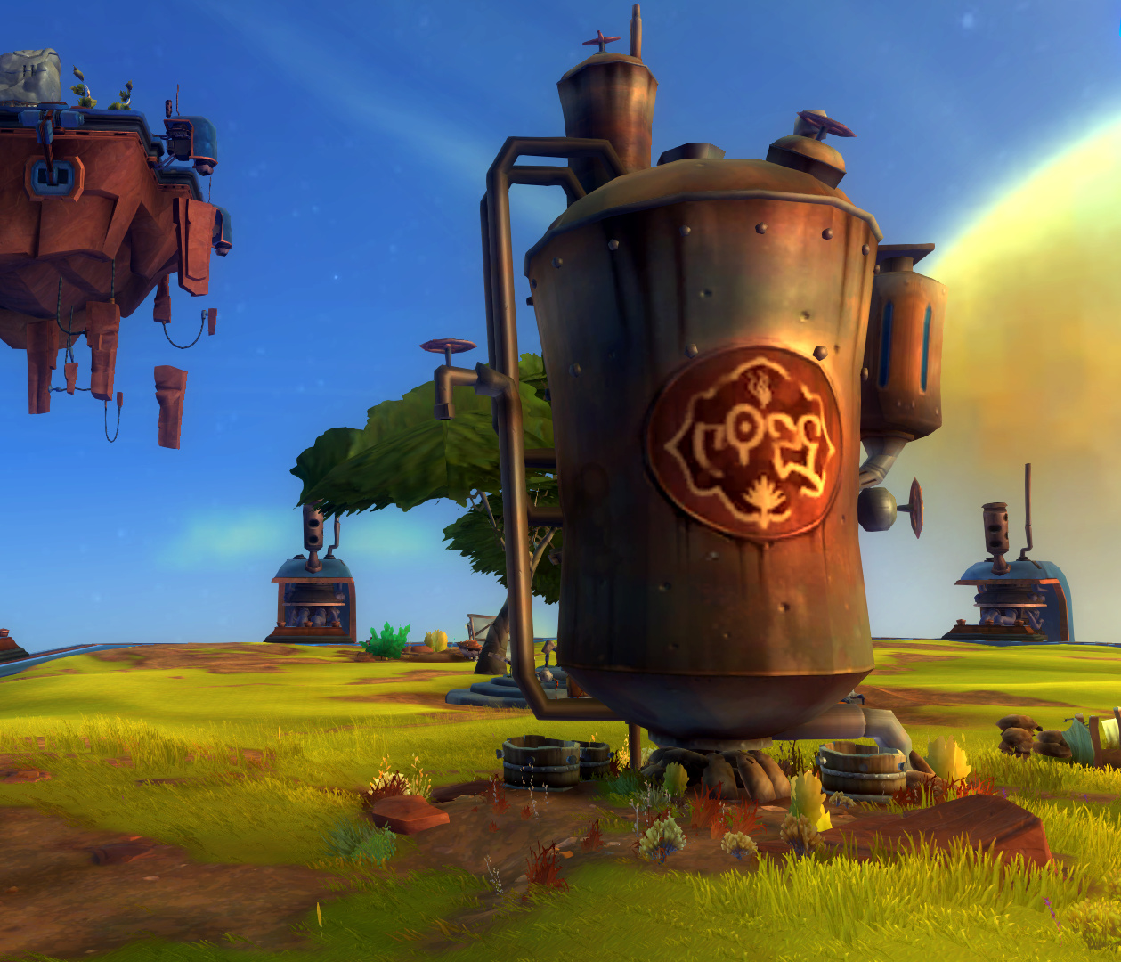 Wildstar Housing - Water Tower