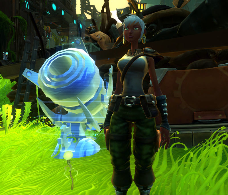 Wildstar Housing - Supply Officer Clayre