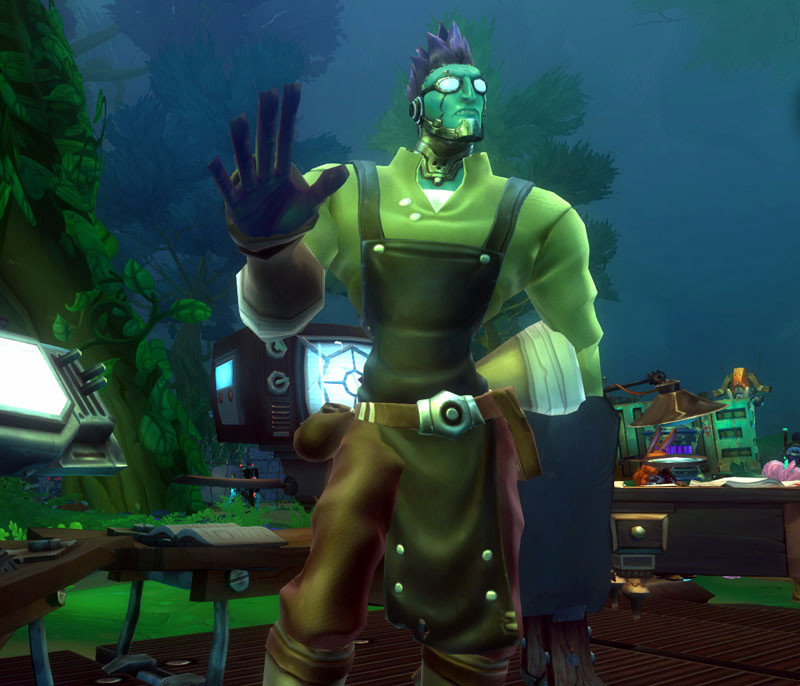 Wildstar Housing - Trader Edvard Versky